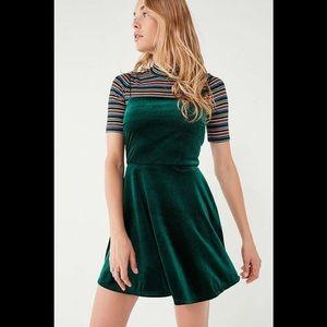 Urban outfitters BNWT velvet skater dress